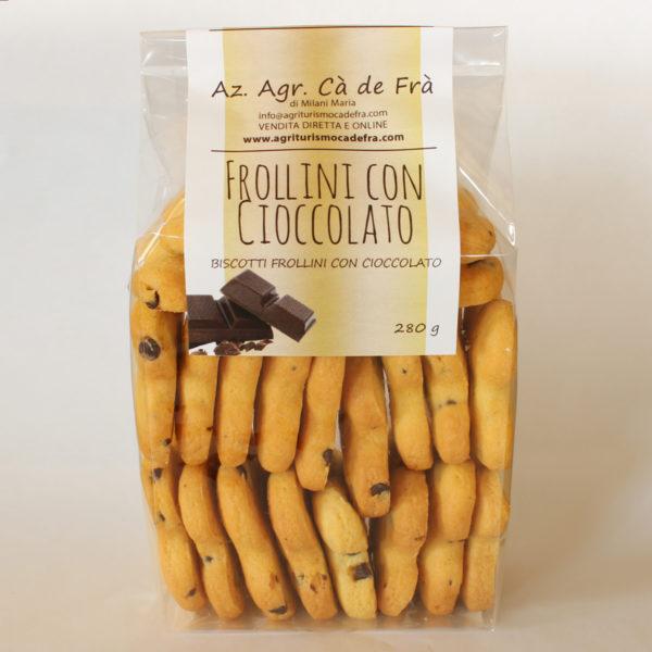 Frollini con Cioccolato