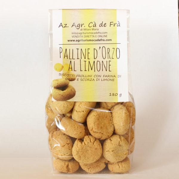 Palline Orzo al Limone